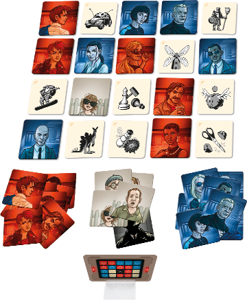 Codenames - Pictures - components