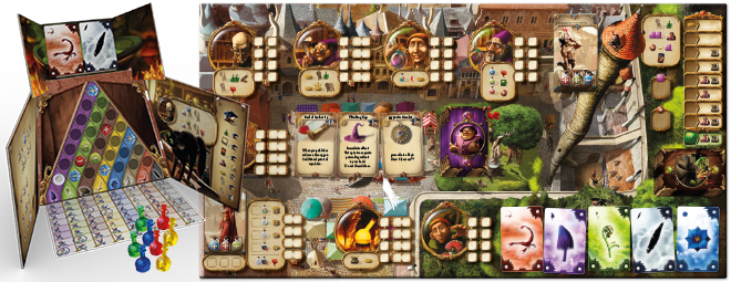 Announcing new games for Essen 2014: Alchemists