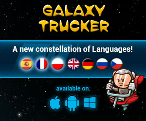 Galaxy Trucker explores a new constellation of languages!