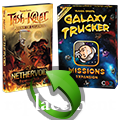 Tash-Kalar: Nethervoid and Galaxy Trucker: Missions replacement