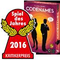 Codenames wins the Spiel des Jahres 2016!