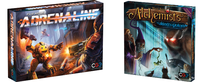 Adrenaline & Alchemists expansion availability