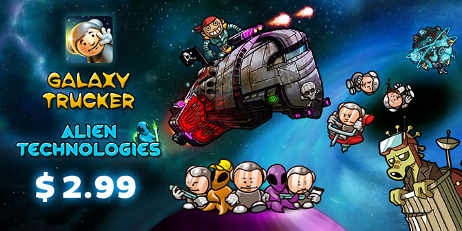 The celebration with Galaxy Trucker has just begun!