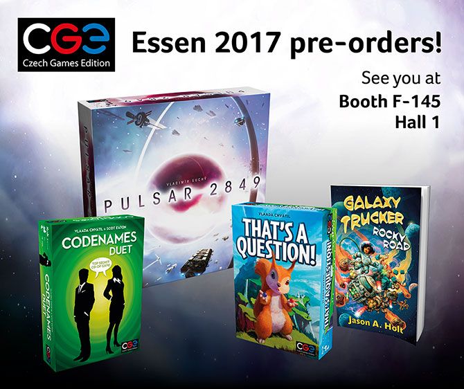 Essen Spiel 2017: New titles and Pre-order!