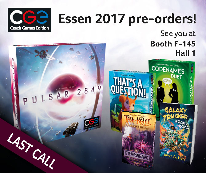 Spiel'17: Sneak previews, BGG contest and much more!