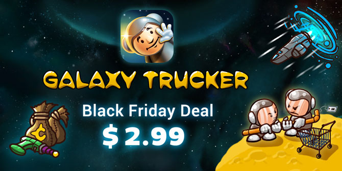 Galaxy Trucker App on Sale