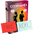 Fake Codenames, no it's not a new edition