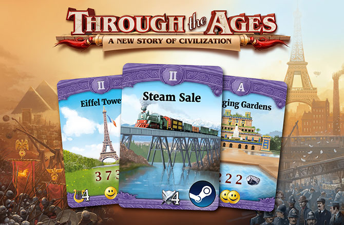 Through the Ages is taking part in the Steam Summer Sale!