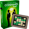 The secret of the key card in Codenames: Duet