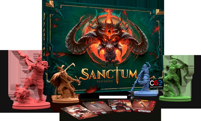 Sanctum – new BIG game announcement: composition
