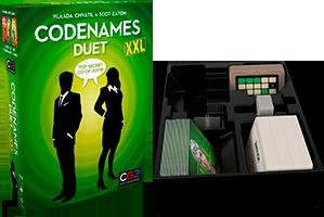 Gen Con '19: Codenames: Duet XXL