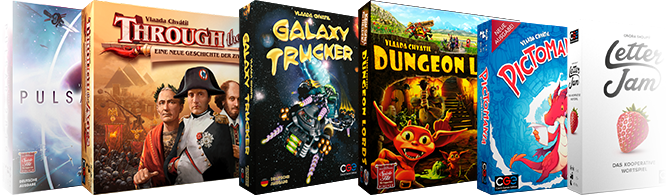 Games from CGE and HeidelBÄR Games