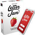 COMPANION APP for the Letter Jam board game is available! (Phone designed by zlatko_plamenov / Freepik)