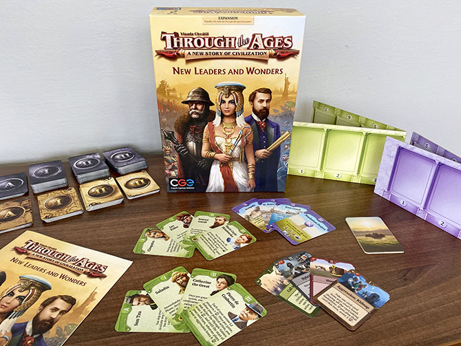 Through the Ages Expansion is on its way to you!