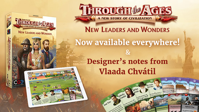 New Leaders and Wonders Release and Designer's Notes