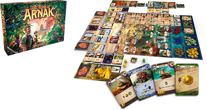 Board Game Lost Ruins of Arnak Czech Games Edition