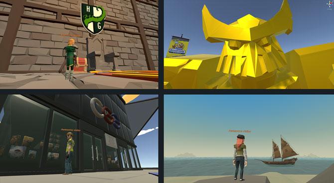 3D World screens