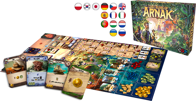 Under Falling Skies and Lost Ruins of Arnak – finally in stores! « Czech  Games Edition | Boardgame Publisher