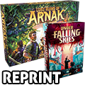 Lost Ruins of Arnak and Under Falling Skies Reprint