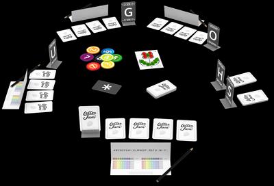 Letter Jam – components