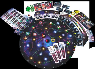 Pulsar 2849 – components