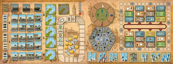 Shipyard - board and components