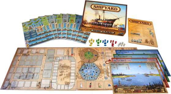 Shipyard - components