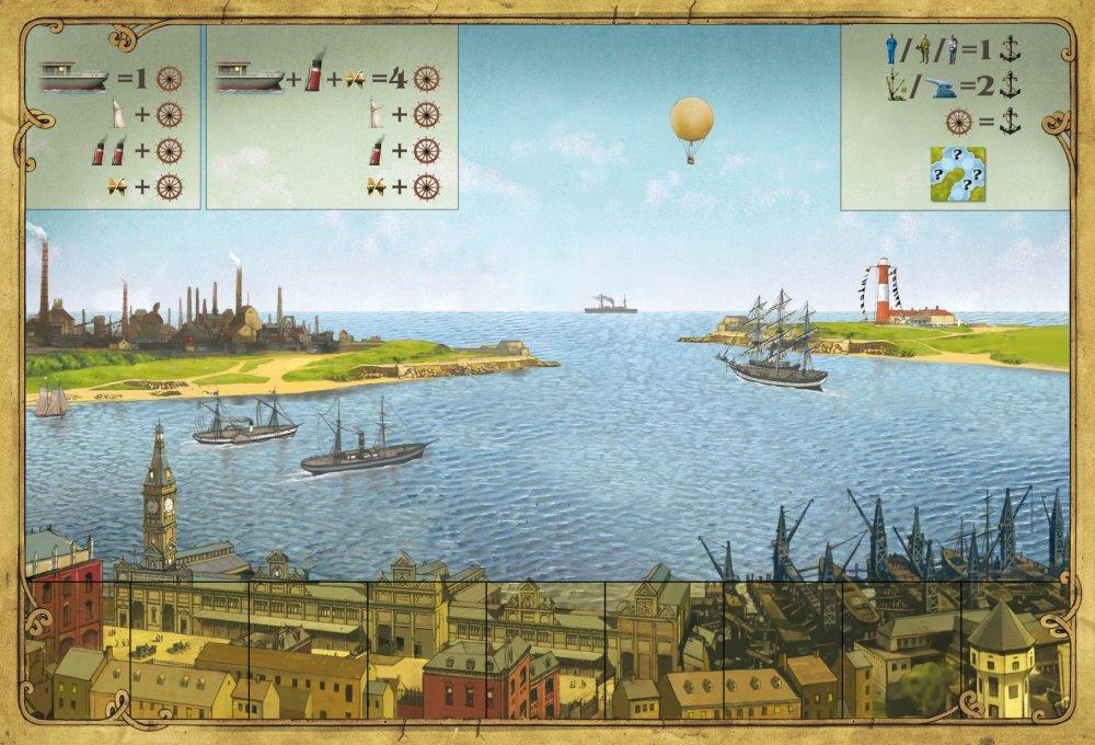Shipyard - player board